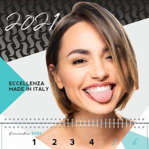 Дизайн календаря 2021 для inlei